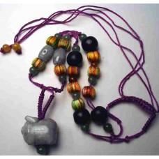 Pig Jadeite Fine Necklace