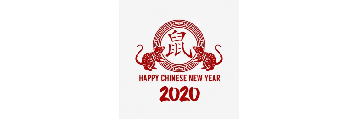 2020 Chinese New Year -the Year of the Rat, Mouse