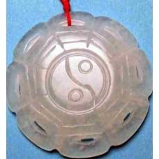 Bagua Fengshui Jade Necklace