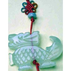 Dragon Large Jade Charm