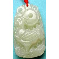Rooster Fine Jade Necklace