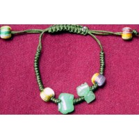 Suitable Goat & Pig Jadeite Bracelet