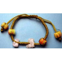 Suitable Ox and Rooster Jadeite Bracelet
