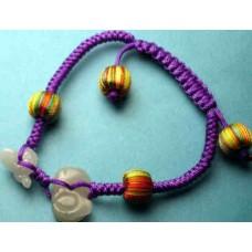 Suitable Ox Snake Jadeite Bracelet