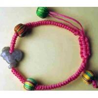 Rooster Jadeite Bracelet