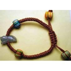 Tiger Jadeite Bracelet