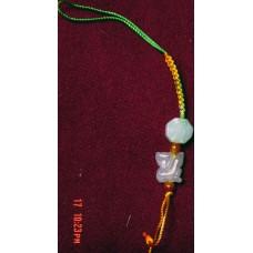 Monkey  Jadeite Phone Strap