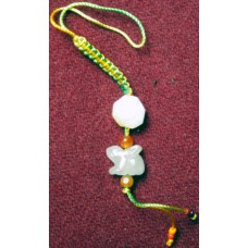 Rabbit Jadeite Phone Strap