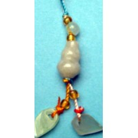 Treasure Gourds Jade Phone Strap