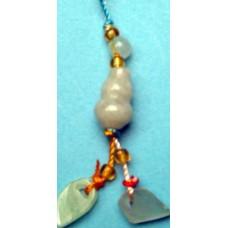 Treasure Gourds Jade Phone Strap