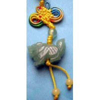 Dragon Green Crystal Charm