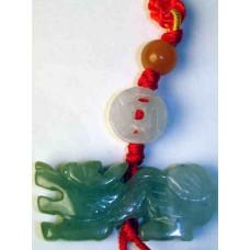 Jadeite Dragon Charm