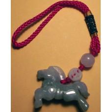 Jadeite Large Horse Charm