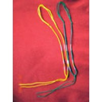 Silk Adjustable Necklace Cord w/Beads