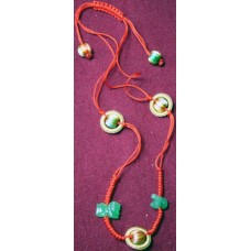Rabbit & Goat Jadeite Necklace