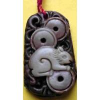 Rat Purple Jade Necklace