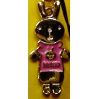 MeToo Tuzki Rabbit Phone Strap and Wiper