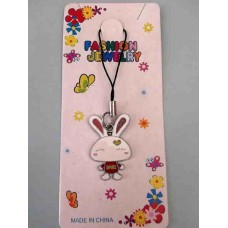 Tuzki Love Rabbit Phone Strap