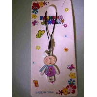 Tuzki Flower Rabbit Phone Strap
